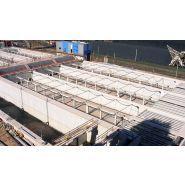Racleurs de bassins de décantation - Ecotec - Composés de pièces en matières plastiques légères et durables