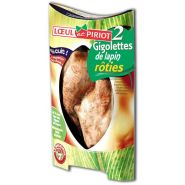 GIGOLETTES DE LAPIN RÔTIES