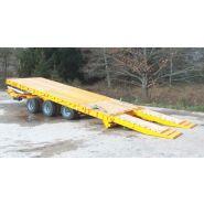 PB315R - Remorque plateau pour poids lourd - Fournier - Ptc 24t