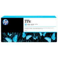 CARTOUCHE D'ENCRE HP 771C DESIGNJET Z6200 CYAN CLAIR B6Y12A 775ML