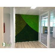 Murs végétaux - Le mur vert - Contemporain