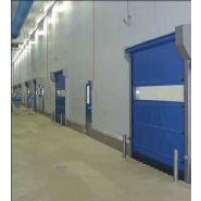 Porte rapide Greensystem / souple / à enroulement / utilisation intérieure / 3500 x 3500 mm