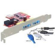 DELOCK PCI EXPRESS CARD > 2 X MULTIPORT USB 3.0 +