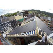 Dolmen noir 42000031 - ardoise pour la toiture - cembrit - dimension 4x600x300 mm