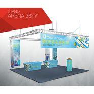 Easy stands tissu arena  36 m2