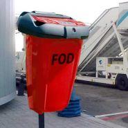 Fod 50 - poubelle publique - glasdon - 50 litres