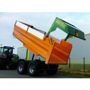 GVM 180 Benne agricole monocoque grand volume - Gourdon SA - Charge 18 T