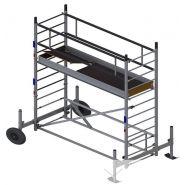 Ecopro TT Échafaudage aluminium - Ultralu - Hauteur de travail 2 m