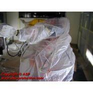 Fpb - protection pour robot industriel - asp - confectionnée en tissu non tissé base pe