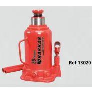 13020 - Cric bouteille hydraulique - Autobest - Force de travail : 20 T