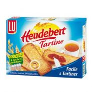 HEUDEBERT 40 PAINS GRILLÉS TARTINE 325 G