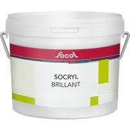 Socryl Brillant - Peinture de finition et fonds - Socol SA - Poids spécifique 1,300 g/cm3