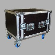 FLIGHT-CASE 19 8U - EUROCASE