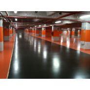 Peinture resine filmogene  parking