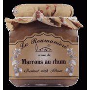 Confiture de crème de marrons au rhum