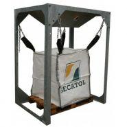 SECATREMIE - Trémie pour big bag - Secatol - Section trémie : 450 x 450 mm