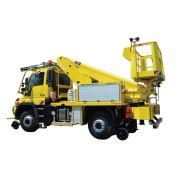 132 tm camion nacelle télescopique -  fe group - 6.5t