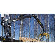 2115 - grues forestières - kesla - à bras droit - grue de classe tonne/mètre 15
