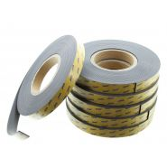 Rubans magnétiques - EURE FILMS ADHESIFS - Dimensions : 19 mm (H) x 10 m (L)