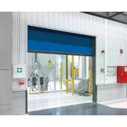Porte rapide 6030 Atex / souple / en plastique / utilisation intérieure / 4000 x 4000 mm