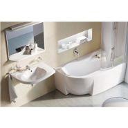 Baignoire dangle CONCERTO 140x140cm blanc Acrylique P015501 r/éf P015501