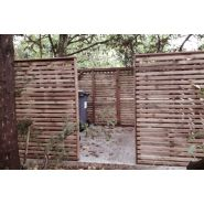 Nanterre - Cache-conteneurs et abris poubelle - Citaneo - Essence de bois : Pin