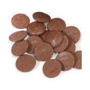 PISTOLES DE CHOCOLAT AU LAIT «CHOCOVIC» 1KG500