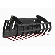 Combiné griffe heavy duty tx400series - fourches à fumier - mx - modèle de cga 245 mt/mo à cga 280 mt/mo