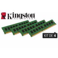 BARRETTE MÉMOIRE 32 GO MODULE ECC (KIT 4X8 GO) - DDR3 1600 MHZ