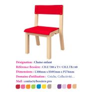 CHAISE ENFANT EMPILABLE