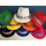Chapeau BRAZ + Bandeau Sublimé cousu Référence : 6L4H6M