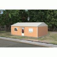 Constructions modulaires - Karmod - Menuiserie à double vitrage PVC