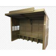 Abri bus abribus  structure 100% recyclée