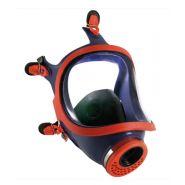 731 - masque à gaz - climax - points harnais : 5 - filtres à gaz, à particules et filtre combiné