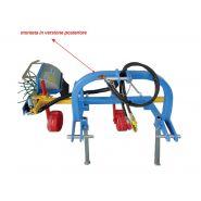 SPOL SIMPLE - Épampreuse mécanique - Arrizza SRL - Châssis posterieur où antérieur avec attelage à 3 points