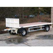 RA2TG3 - Remorque plateau pour poids lourd - Fournier - Ptc 19t