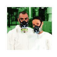 Demi-masque silicone advantage 400
