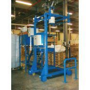 ERIBAG R BG 600 - Stations de remplissage pour big bags - Erimac - Vanne papillon à 1 ou 2 débits