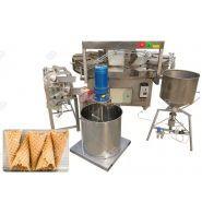 Machine électrique de cornet de crème glacée de gaufre - Henan Gelgoog - Capacité 500-800pcs/h