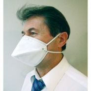 PLM-10 - Masque FFP1 - LCH medical products - Avec valve - Bec de canard