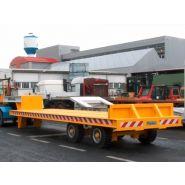ORIGINAL - Remorque plateau pour poids lourd - Fournier - 2 essieux