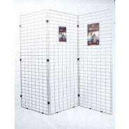 Ecofil - Grille d'exposition - Promuseum - Dimensions hors tout : H 180 x L 80 cm
