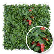 Tropical - murs végétaux - france green - plaques de 1m x 1m