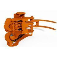 Grappin coupeur forestier Axer 450 S - Axer - Ouverture max 1000 mm - Diamètre de coupe max 450 mm