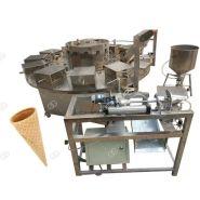 Machines électriques de cône de gaufre de crème glacée - Henan Gelgoog - Capacité 800-1000pcs/h