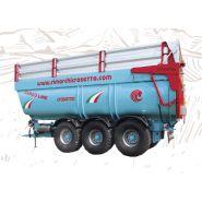 Bennes agricoles dumper - AGRIMEC di Crosetto Elio & C. snc - Charge jusqu'à 40 T