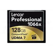 Lexar lcf128crbeu1066 carte mémoire compact flash 128go 1066x , 160mb