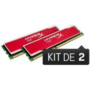 BARRETTE MÉMOIRE 8 GO MODULE HYPERX RED (KIT 2X4 GO) - DDR3 1333 MHZ