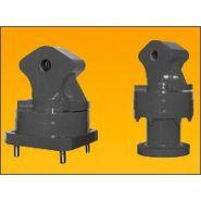 Rotateur mécanique à axe ou flasque série rmg
