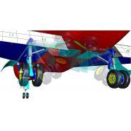 Logiciel de simulation - Hexagon - Simulation de charges en cas d'atterrissages brutaux